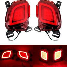 For Toyota Highlander 2015-2018-2019 LED Rear bumper led rear fog lamp 2PCS