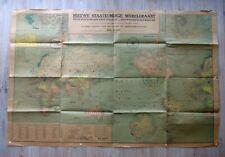 1939-Oude wereldkaart-Alte Weltkarte-Historic-Carte historique du monde-108x71cm