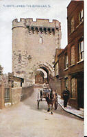 Sussex Postcard - Lewes - The Barbican - Ref TZ4389