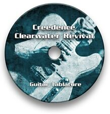 Creedence Clearwater Revival CCR Guitar Tabs Tablature Lesson Software CD