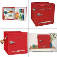 1.6 cu. ft. mini fridge in red