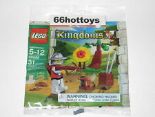 Lego 30062 Kingdoms knight Soldier Target Practice New