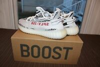 Adidas Yeezy Boost 350 V2 Zebra 10 10.5 White Black Red CP9654