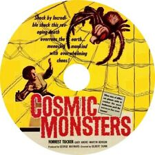 Cosmic Monsters (1958 Cult Sci-Fi Film) Mod Dvd disc only