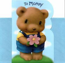 Happy Birthday Mommy From Son Big Brown Bear Hug Hugs Hallmark Greeting Card