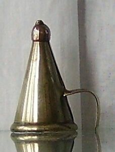 BRASS CANDLE SNUFFER VINTAGE