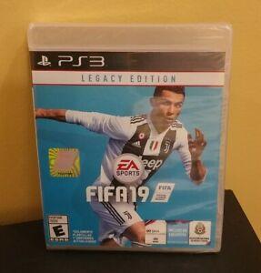 Fifa 19 Legacy Edition PS3 NEW playstation 3 rare 2019 NA USA NTSC version