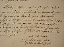 L'abbé réformateur Ferdinand-François Chatel tente de rééditer de son almanach.