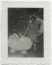 64/583 FOTO - ALTE ZEITEN - KINDERWAGEN