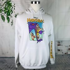 Disney Hercules Movie Anime Cartoon Hoodie Sweatshirt Pullover ~ Large NWT