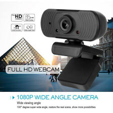 Real 1080P Full HD USB Webcam Web Camera w/ Microphone PC Desktop Laptop Android