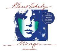 KLAUS SCHULZE - MIRAGE (40TH ANNIVERSARY EDITION; DIGIPACK, REMASTERD)  CD NEU