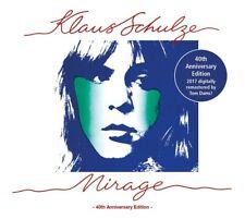 KLAUS SCHULZE - MIRAGE (40TH ANNIVERSARY EDITION; DIGIPACK, REMASTERD)  CD NEW+
