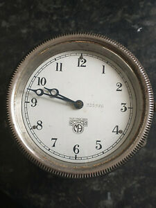 Smiths Vintage Dashboard clock in fully  working order  335726 wind up