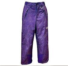 32 Degree Weatherproof Insulated Snow Ski/ Snowboarding Purple Pants Youth 10/12