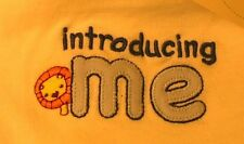 Gymboree 6-12 Month One Piece  INTRODUCING ME 6-12M   NWT