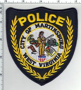 City of Martinsburg Police (West Virginia) 3rd Issue Shoulder Patch 1980's