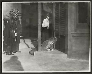 1918 MARY PICKFORD BEHIND THE SET ORIGINAL PHOTO PICKFORD'S ESTATE