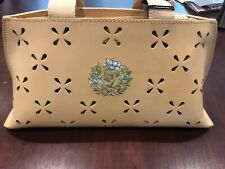 New Tommy Hilfiger Hand Bag Leather Bridal Embroidery