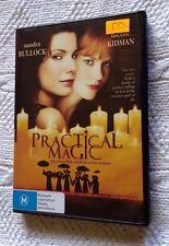 Practical Magic DVD REGION-4, LIKE NEW, FREE POST WITHIN AUSTRALIA