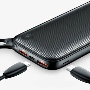 Baseus Powerful Power Bank 20000mAh USB Type-C PD + Quick Charge 3.0 QC 3.0