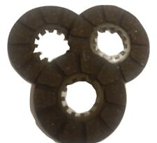 ukscooters LAMBRETTA D LD SET OF 3 CLUTCH PLATES CORKS NEW