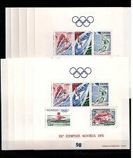 // 10X MONACO - MNH - SPORTS - OLYMPICS - MONTREAL 1976