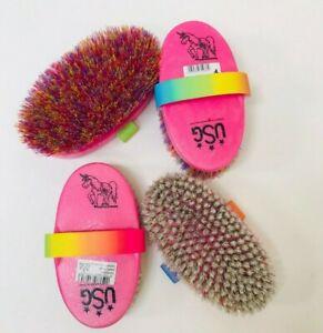 Haas Unicorn Brushes, Soft Brush, Dandy Brush, Haas Childrens grooming brushes