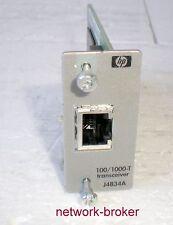 HP Procurve transceiver j4834a 1-puerto Gigabit 100/1000 Base-T