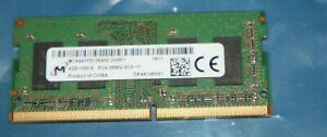Micron MTA4ATF51264HZ-2G6E1 4GB 1Rx16 PC4-2666V-SC0-11 DDR4 RAM Memory 260-Pin