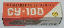 DTE 1:43 RUSSIAN COLLECTOR SERIES PLASTIC CY-100 MILITARY ARMY TANK NIOB R4127