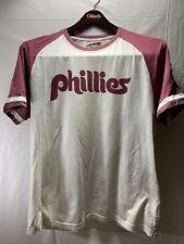 Retro Philadelphia Phillies T Shirt Mens Size Medium