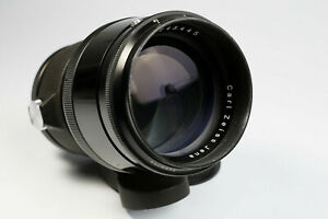 Carl Zeiss Jena Sonnar 2.8 /180mm Q1 lens 18 Blades for M42 No.4245445