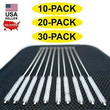 10pcs Long Reach Straw Brush Cleaner Stainless Steel Wire Nylon Bristle USA ship