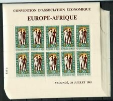 36281a) NIGER 1963 MNH** Europafrica MS (x20)