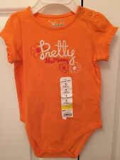 """NEW! Jumping Beans Infant Girls One-piece Bodysuit 9 Months """"Pretty Like Mommy"""""""