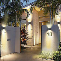 9W Applique da parete a LED Luce faretto lampada a muro arredo casa moderna