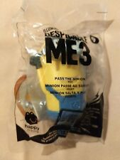NEW 2017 McDonald's Despicable Me 3 #9 Pass The Minion McDonalds Happy Meal Toy