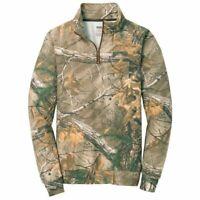Russell Outdoors Men's 1/4-Zip Fleece Pullover Sweatshirt, Realtree Xtra Camo