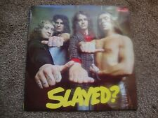 SLADE SLAYED UK POLYDOR 1972 1st PRESS Laminated Sleeve All Near Mint