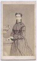 Mieusement Fotografia Primitivo Blois Francia CDV Vintage Albumina Ca 1865