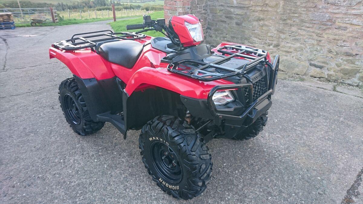 Cullen Wright ATV