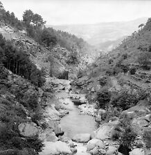 PORTUGAL c.1950 - Gorges du Paiva  Castro Daire- Négatif 6 x 6 - Por 38