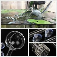 Aquarium Glass Inflow & Outflow Poppy Pipe set 13/17mm for 12/16/22 mm Tube US