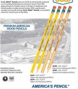 Bleistifte mit Radiergummi Bleistift Set HB Hartholz USA NEU Zeichenstifte Grau