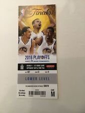 Cleveland Cavs 1st Title Gm 1 2016 NBA FINALS LEBRON JAMES Steph Curry Ticket