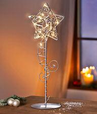 Tischleuchte Lichterkette Fensterdeko Stern Weihnachtsbeleuchtung Weihnachtsdeko
