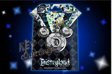 Disneyland 60th Diamond Anniversary Passholder Exclusive Lanyard Medal