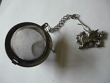 Welsh Dragon Tea Ball Mesh Infuser Stainless Steel Sphere Strainer w31