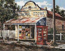 Nostalgic Australian Stores 50 x 40 cm HANLEY 2-NEEDLEPOINT TAPESTRY COTTON KIT